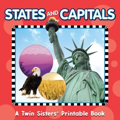 States & Capitals Photographic Workbook - PDF Download  [Download] -     By: Kim Mitzo Thompson