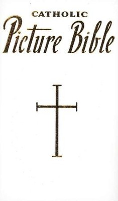 New Catholic Picture Bible, White Bonded Leather   -     By: Rev. Lawrence Lovasik