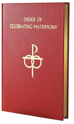 Order of Celebrating Matrimony, Bonded Leather   -     By: I.C.E.L.