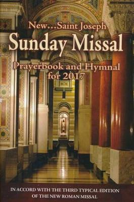 St. Joseph Sunday Missal, Prayerbook & Hymnal for 2017    -