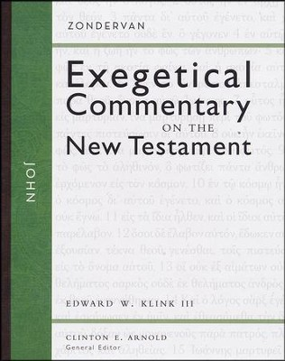 John: Zondervan Exegetical Commentary on the New Testament [ZECNT]   -     By: Edward W Klink III, Clinton E. Arnold