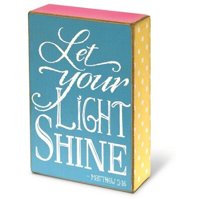Let Your Light Shine, Wall Art  -