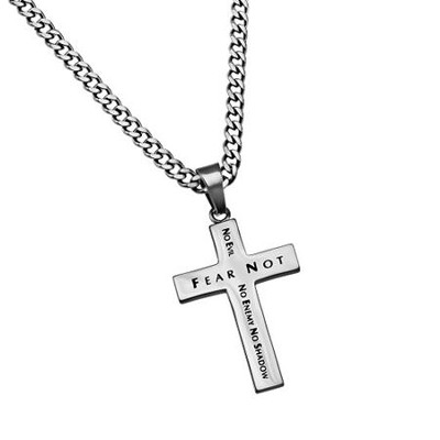 Fear Not Truth Cross Necklace  -