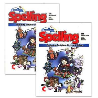 A Reason for Spelling, Level C, Teacher Guidebook and Student Worktext  -