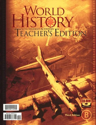 BJU World History Teacher's Set, Third Edition   -
