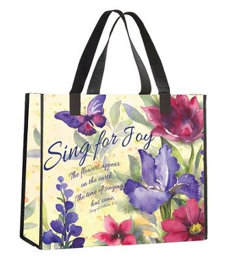 Sing for Joy Tote Bag  -