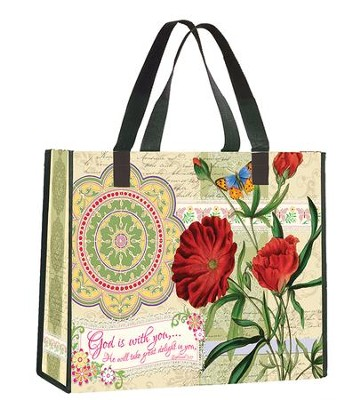 God is With You Tote Bag  -