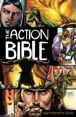 The Action Bible: God's Redemptive Story - PDF Download  [Download] -     By: Illustrated by Sergio Cariello     Illustrated By: Sergio Cariello