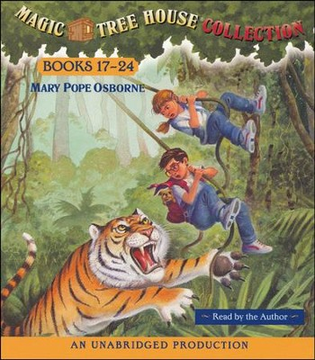 Magic Tree House: Books 17-24 Unabridged Audiobook on CD  -     Narrated By: Mary Pope Osborne     By: Mary Pope Osborne