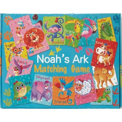 Noah's Ark Matching Game  -