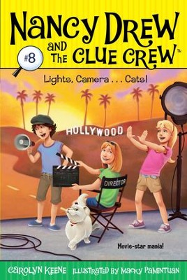 Lights, Camera . . . Cats! - eBook  -     By: Carolyn Keene
