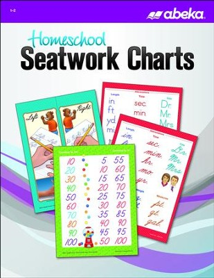 Homeschool Seatwork Charts (New Edition)   -