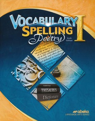 Abeka Grade 7 Vocabulary, Spelling, Poetry 1 Worktext (6th  Edition)  -