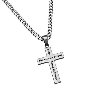 Armor of God Truth Cross Necklace  -