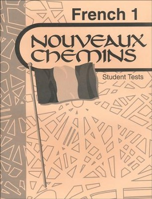 Abeka Nouveaux Chemins French Year 1 Student Tests   -