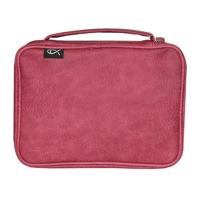Deluxe Bible Cover, Pink, Large  -
