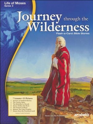Journey through the Wilderness Homeschool Flash-a-Card Bible Story  -