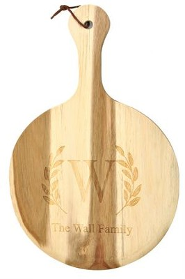 Personalized, Pizza Paddle, Wooden, Family   -