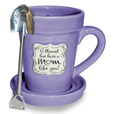 A Blessed Few Have a Mom Like You!, Flower Pot Mug  -