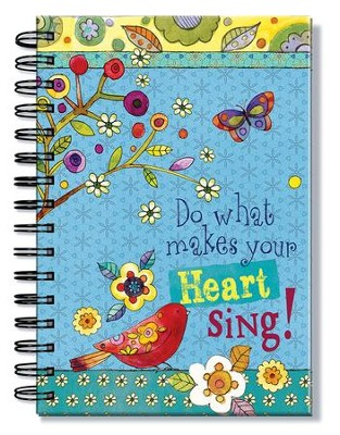 Do What Makes Your Heart Sing Journal  -