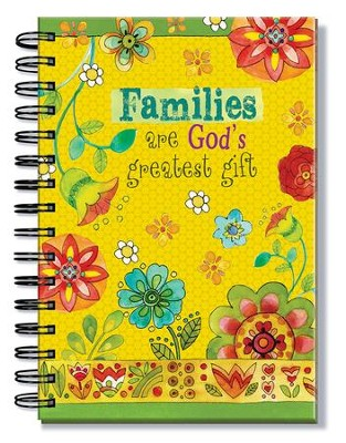 Families Are God's Greatest Gift Journal  -
