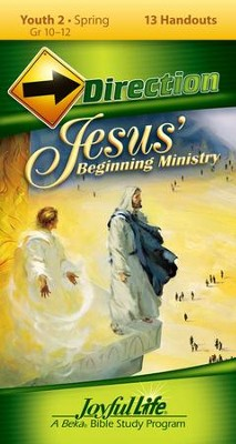 Youth 2: Jesus' Beginning Ministry Direction Student Handouts  -