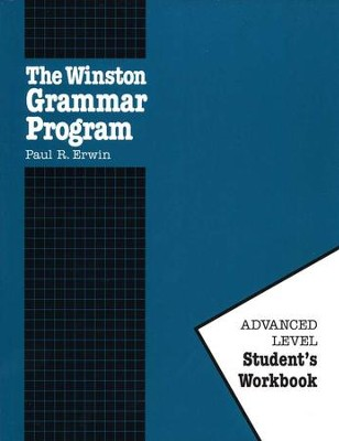 Advanced Winston Grammar Student Workbook Only   -