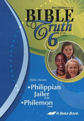 Abeka Bible Truth DVD #6: Philippian Jailer, Philemon   -