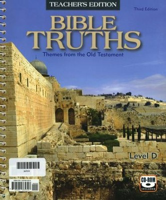 BJU Bible Truths Level D Teacher's Edition with CD-ROM (Grade 10) Third Edition  -