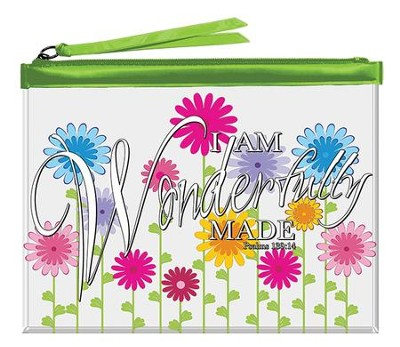 I Am Wonderfully Made, Everything Pouch  -