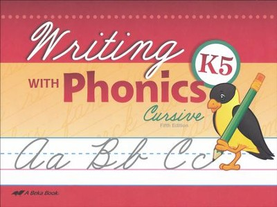 Writing with Phonics K5 (Cursive)   -