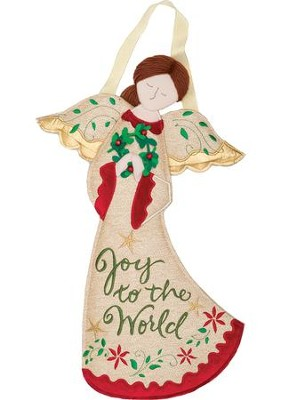 Joy To The World, Angel, Wall Decor  -