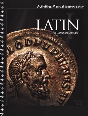 BJU Latin 1 Student Activities Manual, Teacher's Edition    (Second Edition)  -