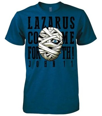 Lazarus Shirt, Blue, Small  -