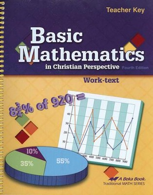 Abeka Basic Mathematics in Christian Perspective Teacher Key   -