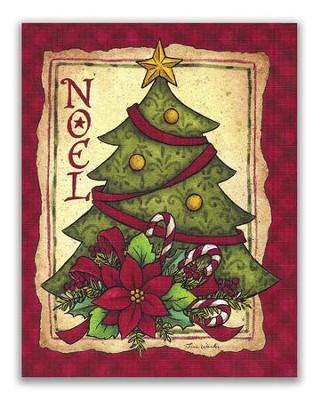 Noel Christmas Tree Christmas Cards Box Of 18 Christianbook Com