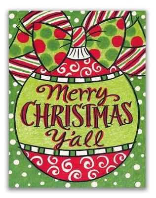 Merry Christmas Yall.Merry Christmas Y All Christmas Cards Box Of 18
