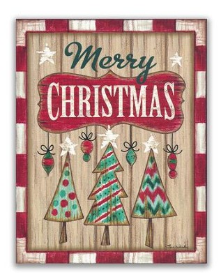 merry christmas rustic christmas cards box of 18 - Rustic Christmas Cards
