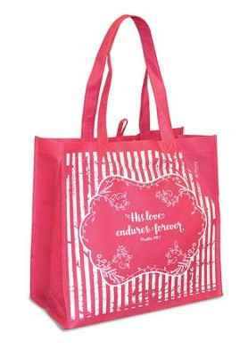 His Love Endures Eco Tote  -