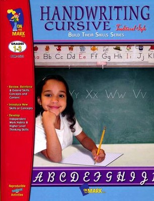 Cursive Writing-Traditional Workbook Grades 1-3   -