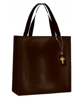 Bible Study Tote Bag, Black  -