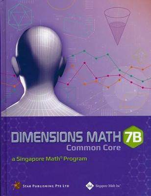 Dimensions Math Textbook 7B (Hardcover)   -