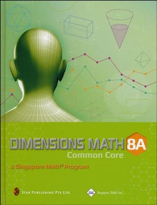 Dimensions Math Textbook 8A (Hardcover)   -