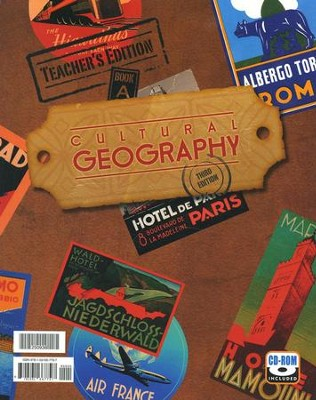 BJU Geography Teacher's Edition Book & CD-Rom, Grade 9  Third Edition  -