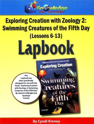 Apologia Exploring Creation with Zoology 2: Swimming  Creatures of the 5th Day Lessons 6-13 Lapbook  -