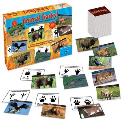 Animal Tracks Game   -