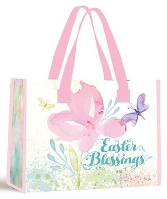 Blessings Tote Bag, Butterfly Lilacs   -