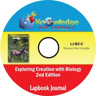Apologia Exploring Creation With Biology 2nd Edition Lapbook Journal PDF CD-ROM   -