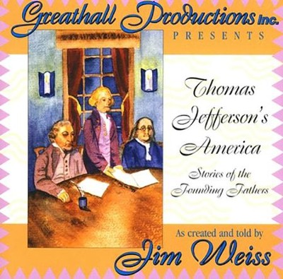 Thomas Jefferson's America on Audio CD   -