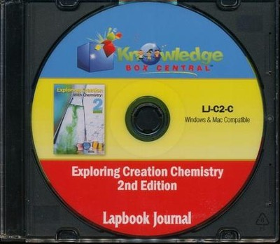Apologia Exploring Creation With Chemistry 2nd Edition Lapbook Journal PDF CD-ROM   -